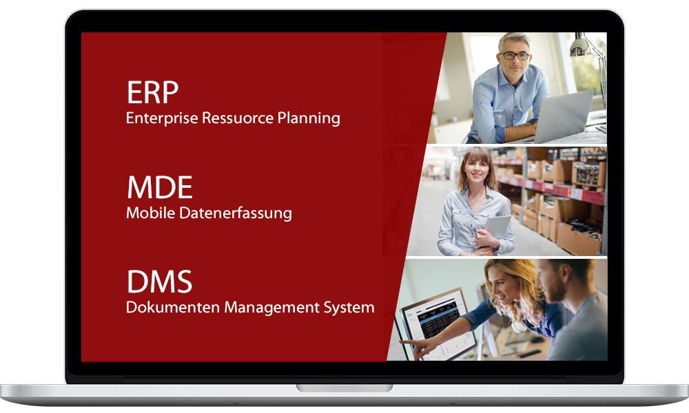 jucom ist Ihr Partner in den BEreichen ERP, MDE und Dokumentenmanagement