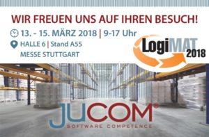 jucom auf der LogiMAT