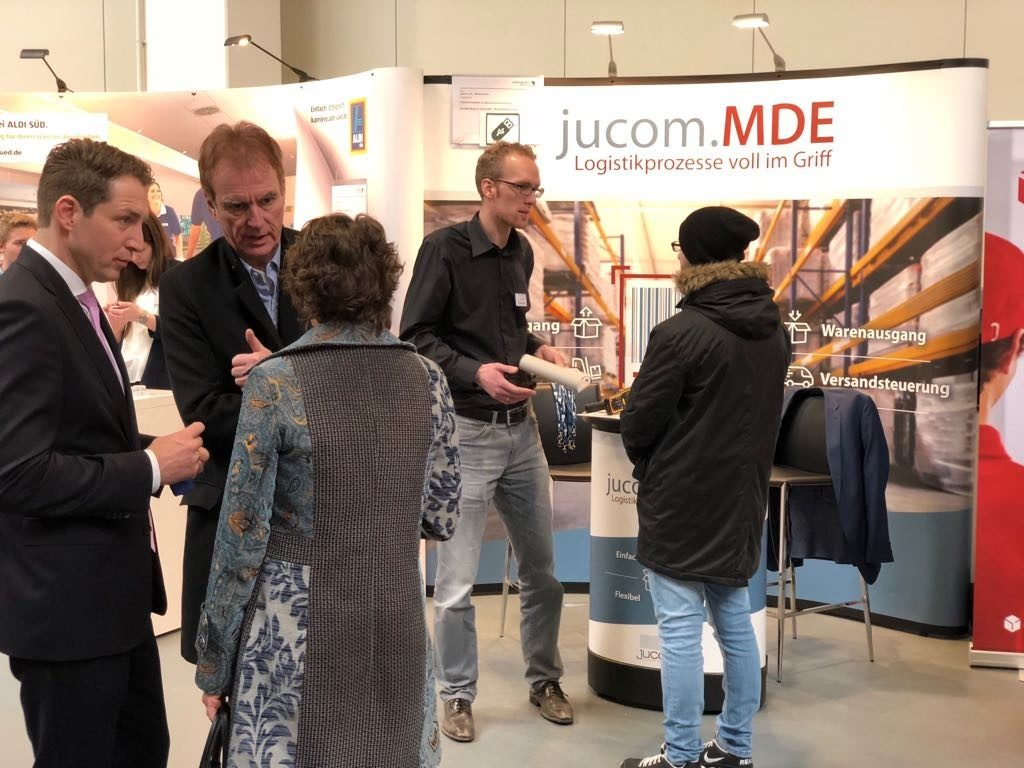 jucom auf der Ausbildungsmesse Süd-Siegerland 2018