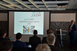 jucom beim Kundentag mit der Step Ahead AG2016