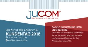jucom beim step ahead ag kundentag 2018