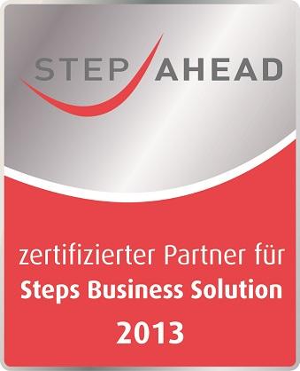 jucom ist zertifizierter Parnter für die Steps Business Solution 2013