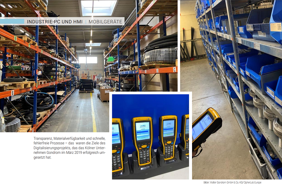 Umsatzplus mit digitaler Lagerwirtschaft