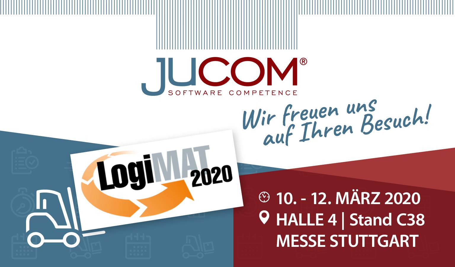 jucom auf der LogiMAT 2020